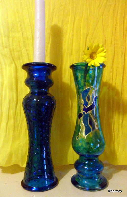 Gyertyatartó és váza egyben